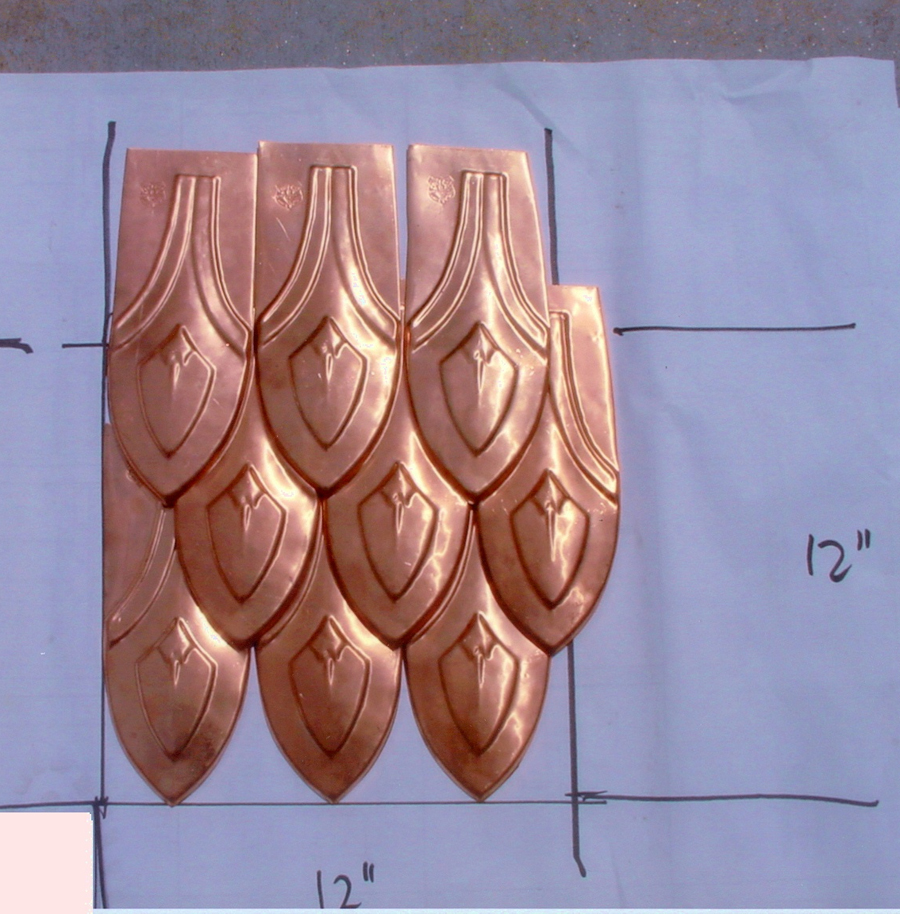 Copper Roof Shingles And Tiles